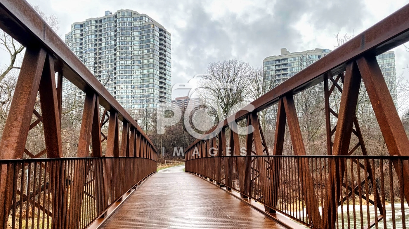 A bridge in a park in Toronto 2
